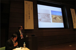 Lecture by a Bahraini expert at the Saitobaru Archaeological Museum of Miyazaki Prefecture