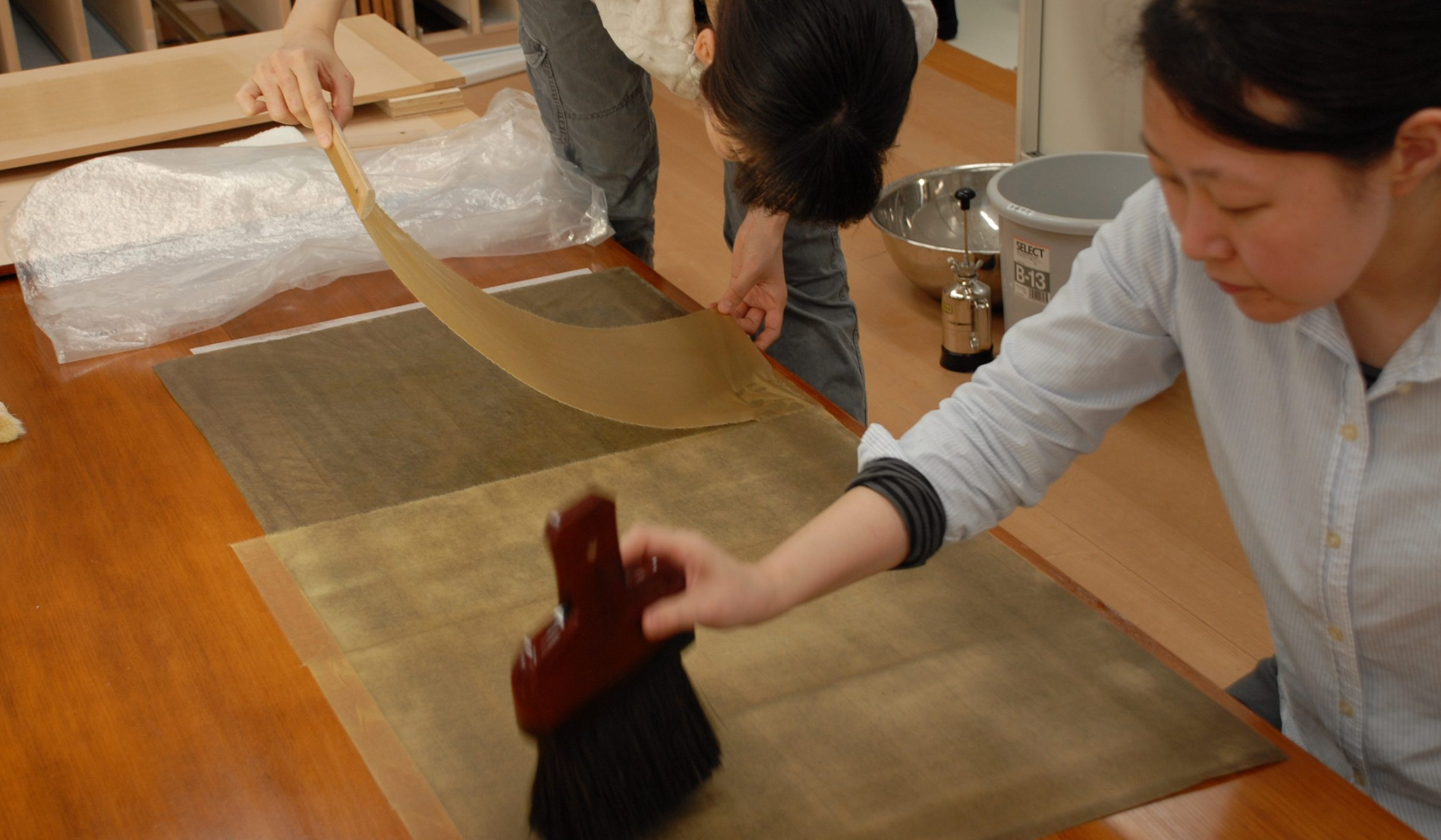 The Cooperative Program for the Conservation of Japanese Art Objects Overseas